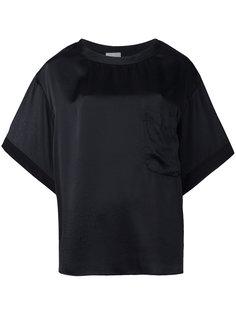футболка с карманом Nude