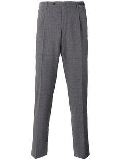 зауженные костюмные брюки Pt01