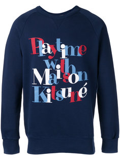 Playtime sweatshirt  Maison Kitsuné