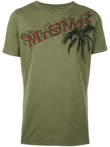 футболка с принтом-логотипом Mr & Mrs Italy