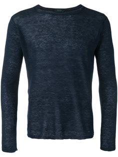 fine knit jumper Zanone