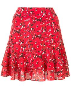 плиссированная юбка с мелким принтом Grey Jason Wu