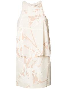 printed dress  Halston Heritage