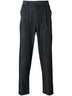 зауженные джинсовые брюки Emporio Armani