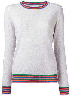 striped cuff jumper Chinti And Parker