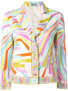 striped jacket Emilio Pucci Vintage