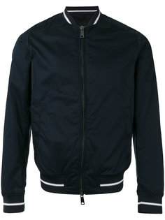 куртка-бомбер  с полосатыми манжетами Armani Jeans