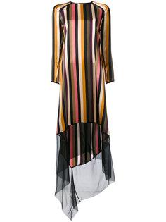 полосатое платье Petar Petrov