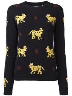 leopard pattern jumper Chinti And Parker