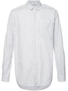 wide stripe longsleeve shirt Engineered Garments