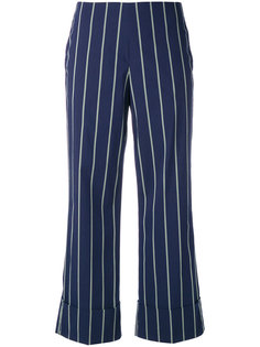 pinstripe trousers Fay