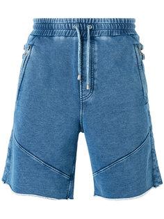 джинсовые шорты с эластичным поясом Just Cavalli