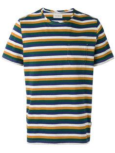 triple stripe T-shirt Oliver Spencer