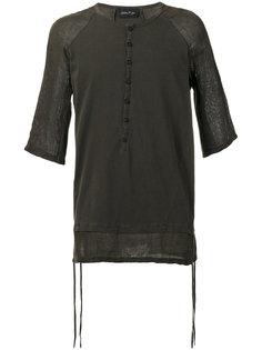 paneled T-shirt Andrea Yaaqov