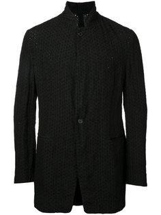 broderie standing collar jacket Forme Dexpression