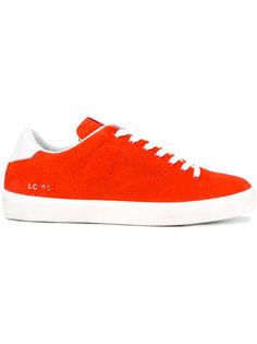 classic lace-up sneakers Leather Crown