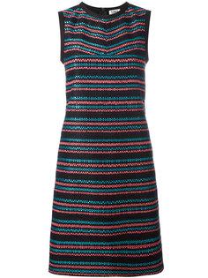 woven stripe shift dress  Sonia By Sonia Rykiel