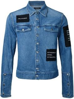 джинсовая куртка с нашивками Christian Dada