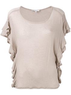 футболка с оборками Iro