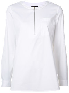 рубашка с застежкой на молнии Lafayette 148