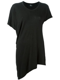 oversized asymmetric T-shirt  Lost & Found Ria Dunn