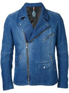 джинсовая куртка  на молнии Guild Prime