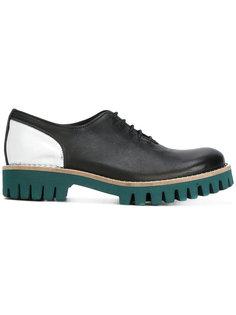 туфли на платформе со шнуровкой Cotélac