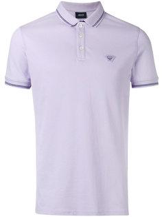 футболка-поло с вышитым логотипом Armani Jeans