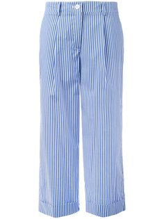 широкие полосатые брюки P.A.R.O.S.H.