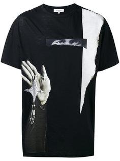 футболка с абстрактным принтом Les Benjamins