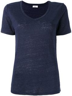 футболка с V-образным вырезом Closed