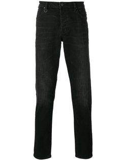 джинсы кроя слим с потертой отделкой Neuw