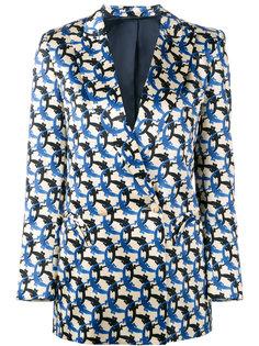 пиджак с принтом крокодилов Blazé Milano