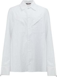 рубашка с нагрудными карманами Moohong
