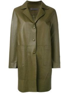 buttoned coat  Simonetta Ravizza