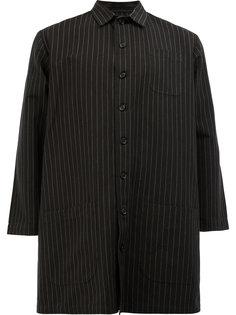 свободный пиджак в тонкую полоску Christopher Nemeth
