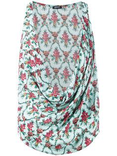 floral print top  Jil Sander Navy
