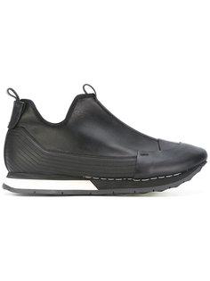 кроссовки с контрастной отделкой Artselab