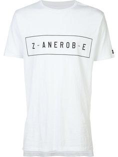 футболка с принтом логотипа Zanerobe