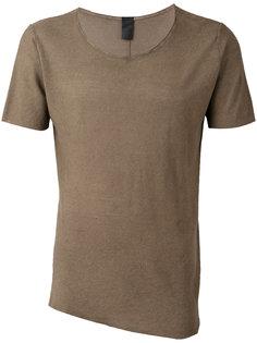 футболка с круглым вырезом 10Sei0otto