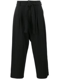 укороченные брюки с завязками The Viridi-Anne