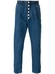 button up denim trousers  Sunnei