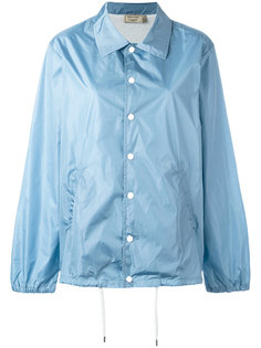 snap fastening raincoat Maison Kitsuné
