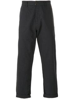 зауженные брюки Universal Works