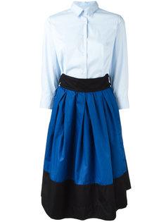 платье со вставкой на юбке Sara Roka