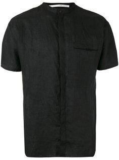 рубашка с короткими рукавами и воротником в китайском стиле Isabel Benenato