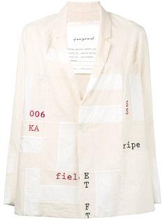 пиджак с графическим принтом Toogood