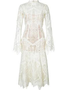 кружевное платье Jonathan Simkhai