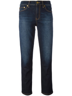 укороченные джинсы скинни Tory Burch