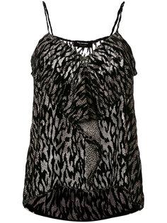 leopard devoré camisole The Kooples